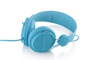nauszne s�uchawki z mikrofonem MC-400 FRUIT BLUE do LG Swift L7 II