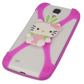 etui bumper 3D Hello Kitty r�owa do SONY Xperia J