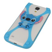 etui bumper 3D Stitch niebieski do SAMSUNG GT-S8600 Wave 3