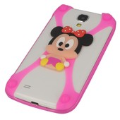 etui bumper 3D Myszka Minnie r�owa do LG Swift L7 II