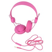 nauszne z mikrofonem MC-400 FRUIT PINK do SAMSUNG GT-i9000 Galaxy S