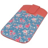 etui wsuwka Flowers do SONY Xperia J