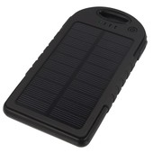 solarna 5000mAh Power Bank z latark� czarna do NOKIA E52