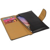 etui portfel Classic czarne do LG Swift L7 II