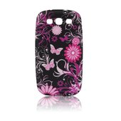 silikonowe etui BACK CASE Design czarne do SONY Xperia J