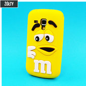 etui silikonowe 3D M&M ��te do SAMSUNG GT-i9300 Galaxy S III