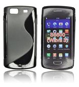 silikonowe etui S-CASE do SAMSUNG GT-S8600 Wave 3