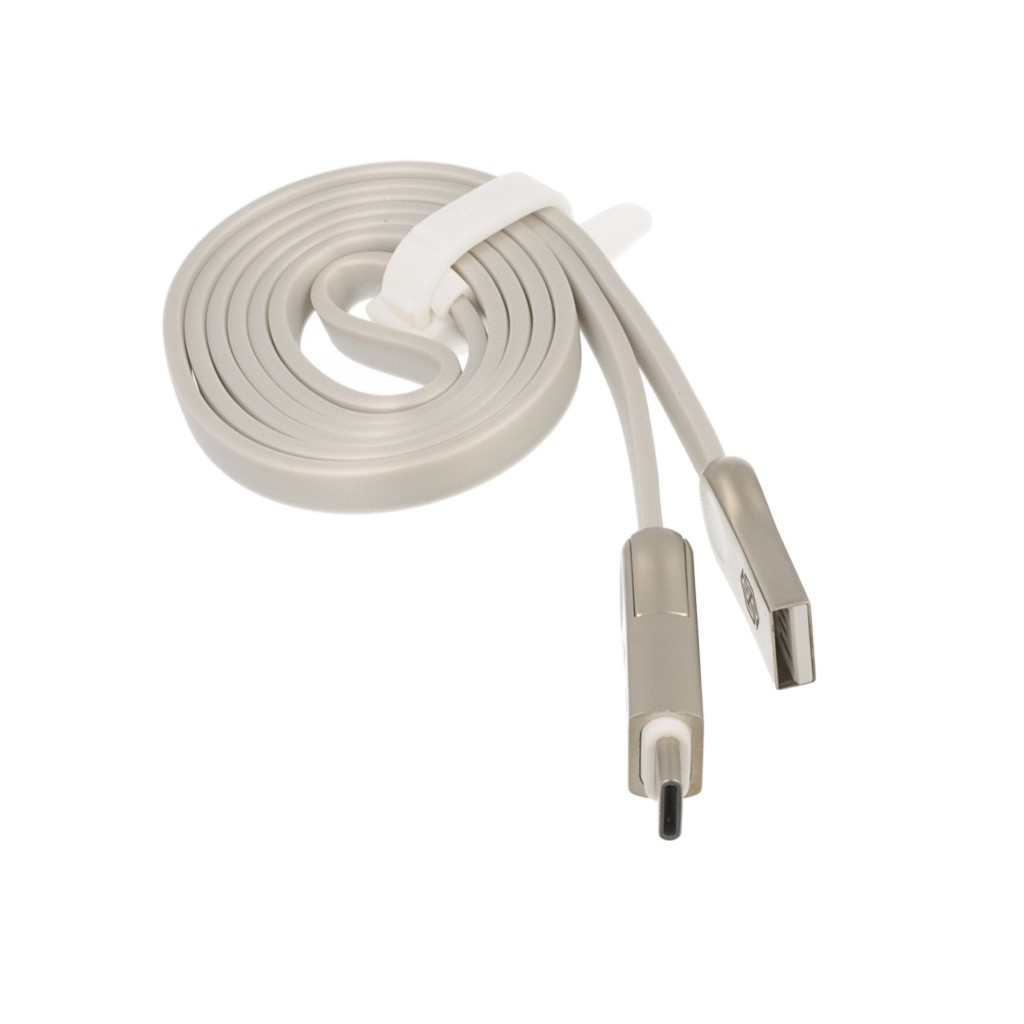 Kabel USB Nillkin Pluse III CABLE 2w1 MICRO USB/TYPE-C szary
