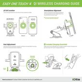 iOttie Easy One Touch 4 QI Car Mount