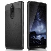 etui TECH-PROTECT TPU LEATHER czarne do HUAWEI Mate 10 Lite