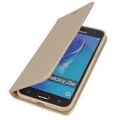 etui Smart Magnet złoty do SAMSUNG Galaxy J3 (2016)