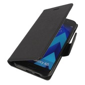 etui Fancy Case czarny do SAMSUNG Galaxy A5 (2017)