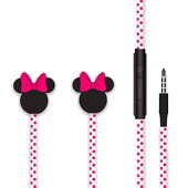 douszne Disney MINNIE MATT 3D różowe do Coolpad Fancy Pro (E571)