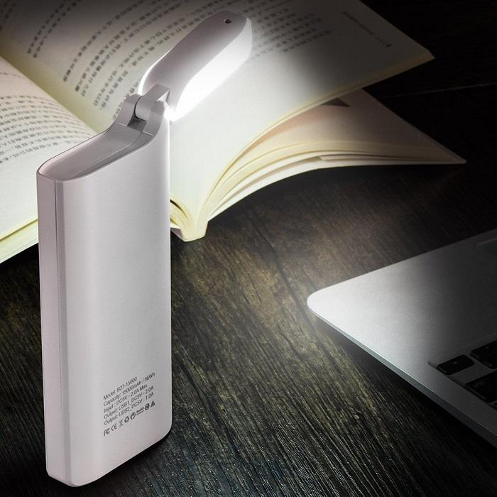 power bank z funkcją latarki