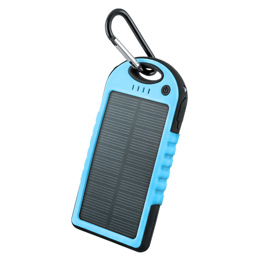 Power bank solarny Setty 5000mAh niebieski ZTE Blade L110