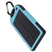 Power bank solarny Setty 5000mAh niebieski ZTE Blade L110 / 2
