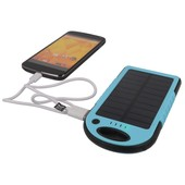 Power bank solarny Setty 5000mAh niebieski ZTE Blade L110 / 7