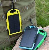 Power bank solarny Setty 5000mAh niebieski ZTE Blade L110 / 8