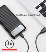 Power bank  10000 mAh Baseus Thin  Digital czarny LG K10